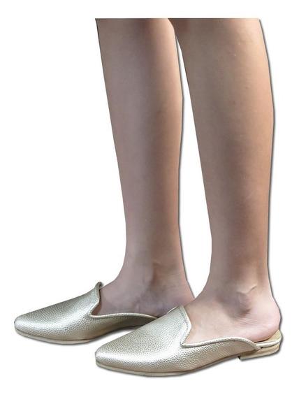 Zapatos De Mujer De Vestir Chatas En Punta Stiletto Slippers