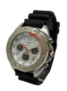Reloj Louis Feraud Paris Cronografo Calendario Hombre Garant