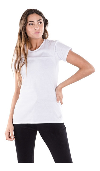 Remeras Mujer Topper T-shirt Mc Wmn Basicos