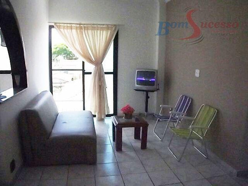 Imagem 1 de 6 de Apartamento Com 1 Dormitório À Venda, 76 M² Por R$ 180.000,00 - Canto Do Forte - Praia Grande/sp - Ap1102