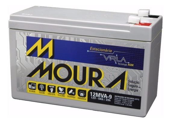 Bateria Selada Estacionária Recarregável 12v 7a Moura Nobrea