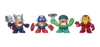 Playskool Señor Cara De Papa Papa-héroes Combinables Marvel