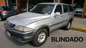 Ssangyong Musso At Blindado Rb3 Oportunidad Alza Motors