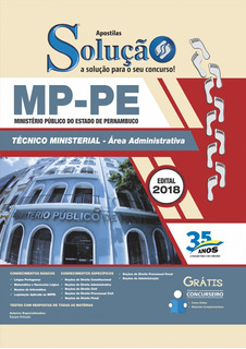 Apostila Mppe - Ministério Público De Pernambuco