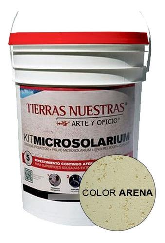 Imagen 1 de 10 de Revestimiento Atermico Para Borde Pileta Piscina Color Arena