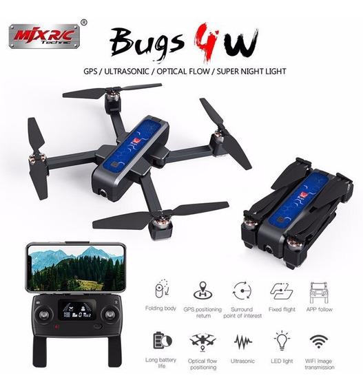 Drone Mjx Bugs 4w 5g Gps 2k 20min 1.6 Km Novo