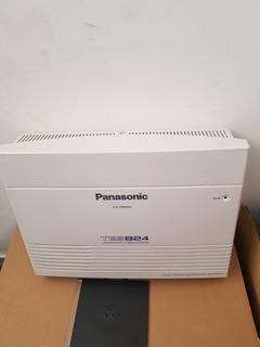 Conmutador Panasonic Kxtes824 8 Lineas 24 Extensiones
