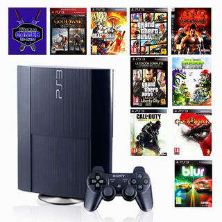 Playstation 3 Play 3 Ps3 Con 14000 Licencias De Juegos