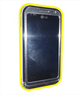 Celular LG Km 900f Prata Usado C/ Defeito