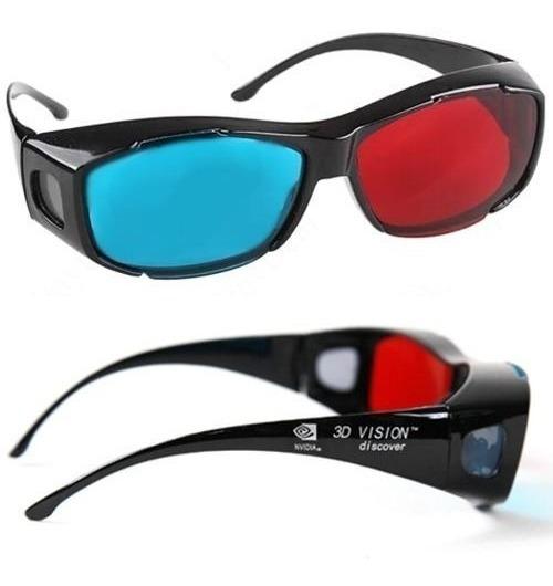 31pçs Óculos 3d Ultra Resistente Ótima Qualidade Red Cyan