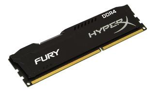 Memoria Ram Ddr4 8gb 2400mhz Hyper Fury Black Pc Envio
