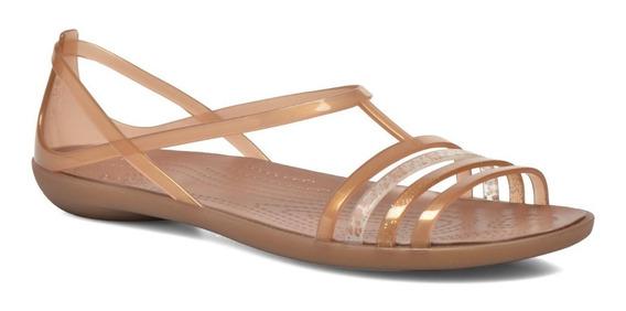 Sandalia Crocs Isabella Sandal W Bronze