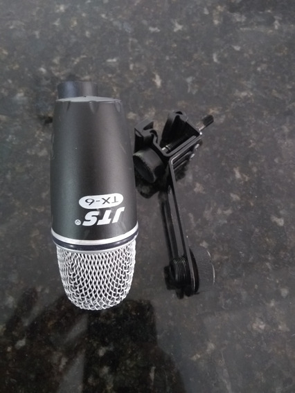 Microfone Bateria Jts Tx 6 / Tx6 / Microfone Tom Com Clamp