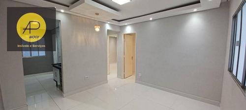 Imagem 1 de 21 de Apartamento Com 2 Dormitórios À Venda, 57 M² - Alto Do Ipiranga - Mogi Das Cruzes/sp - Ap0330