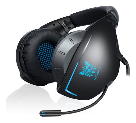 Onikuma K7 3.5mm Gaming Headset Para Ps4 Novo Xbox One Pc Ov