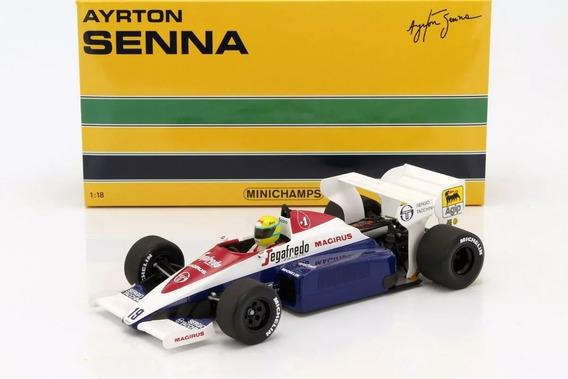 1:18 Ayrton Senna Toleman Tg184 Miniatura 1984 Formula 1