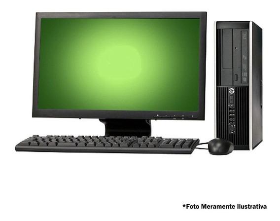 Kit Cpu Hp 8300 1155 I5 8gb 500gb Wifi + Monitor 19 Wide