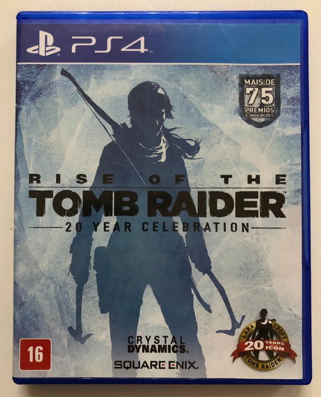 Rise Of The Tomb Raider Ps4 / Dublado / Mídia Física / Usado