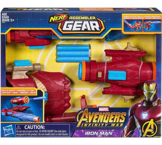 Pistola Nerf Infinity War Iron Man Assembler Gear Hasbro