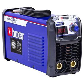 Máquina De Solda Inversora Boxer Flama 201 Bv Bivolt
