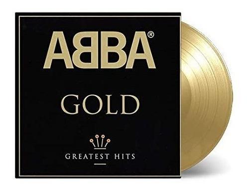 Abba Gold Limited Vinilo Doble Dorado Nuevo Importado 2 Lp