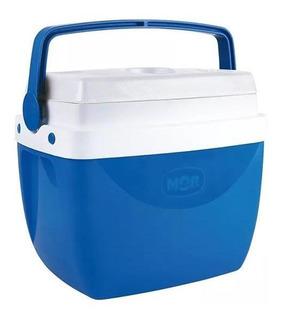 Caixa Térmica Mor 12l Com Alça Azul