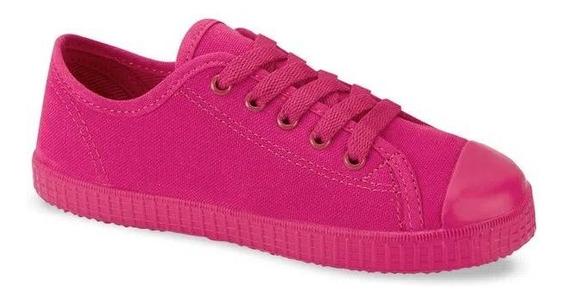 Tenis Niña Andrea Rosa Rosa Fiusha 2748405 Sneaker Infantil
