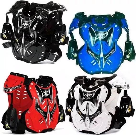 Pechera Proteccion Para Motocross Y Enduro Pro Tork Brasil