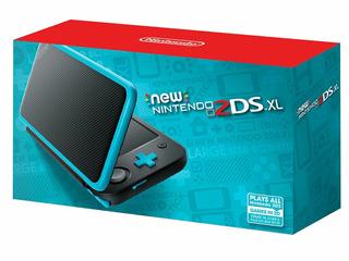 Nintendo 2ds Xl New Original Cerrada + Cargador 1 Año Gtia