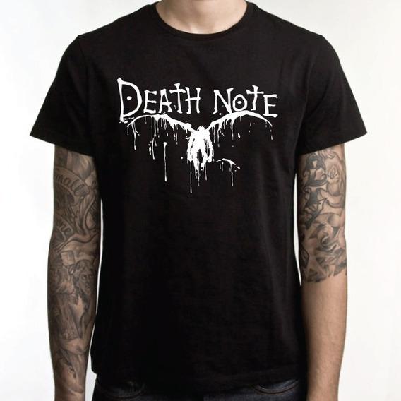 Camiseta Death Note Camisa Anime Eg Xg(56)