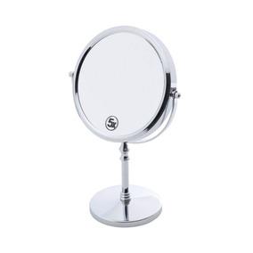 Espelho Duplo Para Banheiro 23,8cmx14cmx35,2 De Ferro Jd