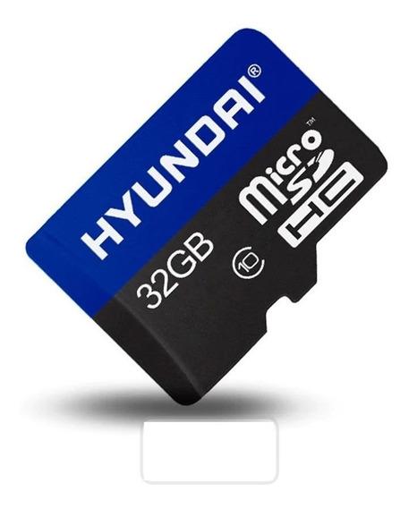 Cartão De Memória 32gb Micro Sd Hyundai Ultra Original