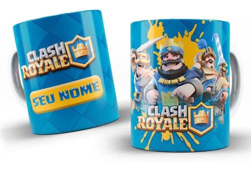 Imagem 1 de 10 de Canecas Personalizadas Clash Royale !!!!