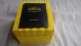 Caixa Invicta Com Manual E Certificado Invicta