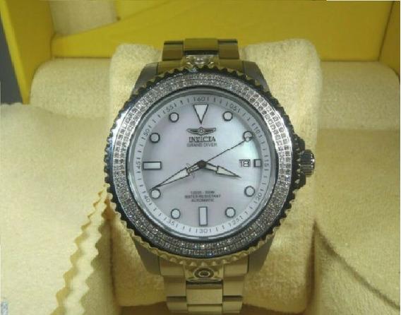 Relógio Invicta Cravejado Diamante Real Original Trap Ice