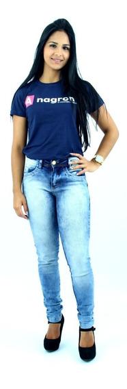 Calça Feminina Jeans Alta Qualidade Rasgadas E Lisas Baratas