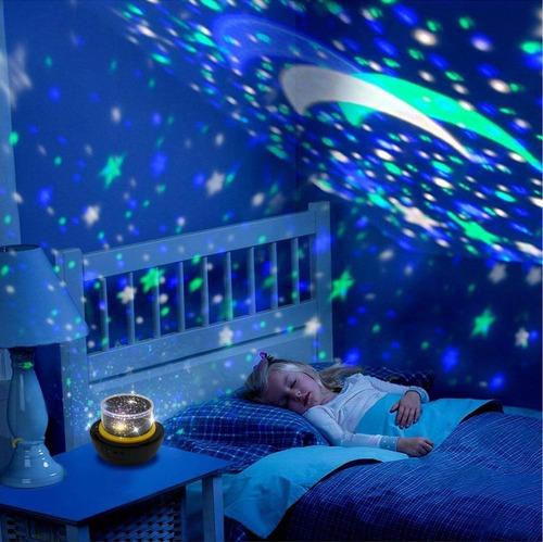 FOCHEA 21 Modos Proyector LED de Luz Nocturna con Altavoz Bluetooth y Temporizador para Beb/és Dormitorio de Ni/ños Proyector Estrellas