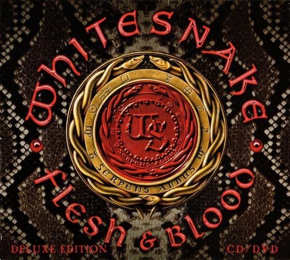 Whitesnake Flesh & Blood-box-set Cd & Dvd Deluxe Edit Impo