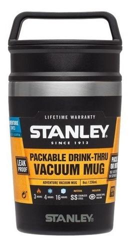 Vaso Termico Stanley Adventure Negro Inox Mug 8 Oz. Pa-pa