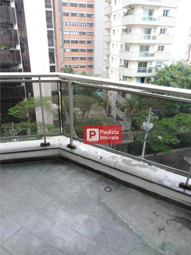 Apartamento Com 4 Dormitórios À Venda, 140 M² - Moema - São Paulo/sp - Ap25419