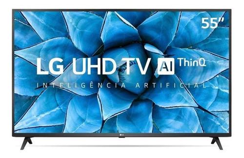 Imagem 1 de 5 de Smart Tv 55  LG 4k Uhd Wifi Usb Hdmi Inteligência Artificial