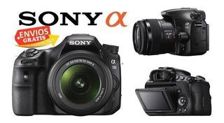 Camara Sony Alpha Slt-a58 Lente 18-55 Mm 20.1 Mpx Como Nueva