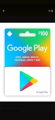Imagen 1 de 1 de Tarjetas Google Play