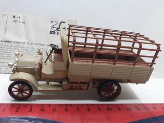 Rio 1/43 Italy N° A1 Camión Fiat 18 Bl Militar 1914