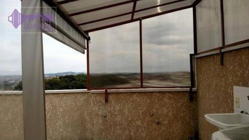 Cobertura Com 2 Dormitórios À Venda, 45 M² Por R$ 276.000,00 - Vila Alto De Santo André - Santo André/sp - Co0274