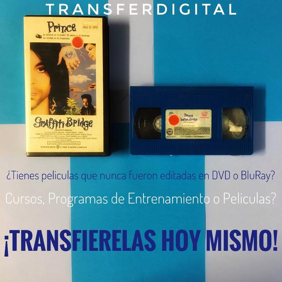 Transferencia Vhs Originales, Cursos, Programas, Disney Dvd