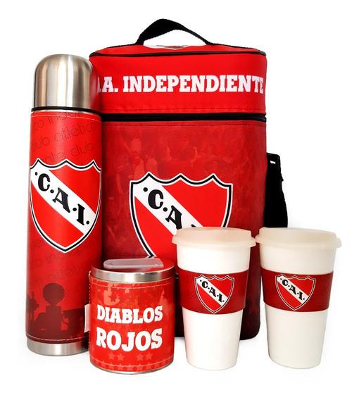 Equipo De Cafe Te Independiente Set Kit Cuero Completo