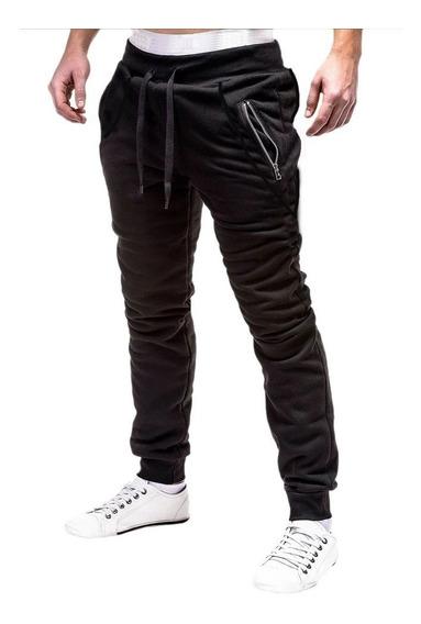 Pantalones Deportivos Friza Joggerr Invierno Otoño Cierres