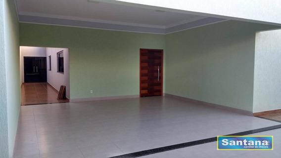 Casa 3 Dormitórios Sendo 1 Suite Venda, 220 M² R$ 550.000 - Estancia Itaguai - Caldas Novas/go - Ca0071