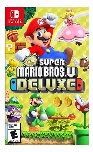 Imagen 1 de 4 de New Super Mario Bros. U Deluxe Standard Edition Nintendo Switch  Digital